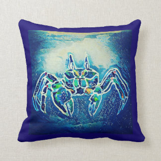 Ghost Crab 1 Throw Pillow