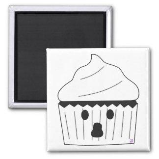 Ghost Cupcake Magnet