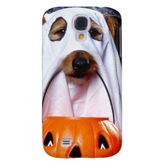Ghost  dog - funny dog - dog halloween samsung galaxy s4 covers