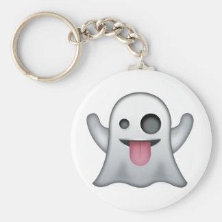 Ghost Emoji Key Ring