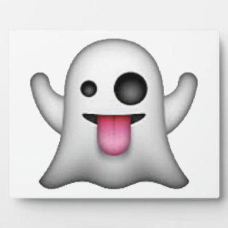 Ghost - Emoji Plaque