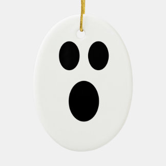 Ghost Face Halloween Ornament