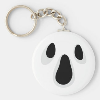 Ghost face keychain, fun Halloween party favor