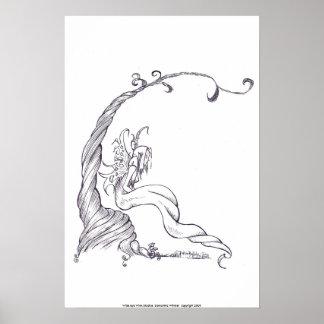 ghost faerie, print