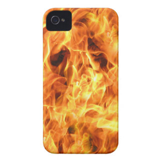 Ghost Flames Photo Pattern Blackberry Case-Mate