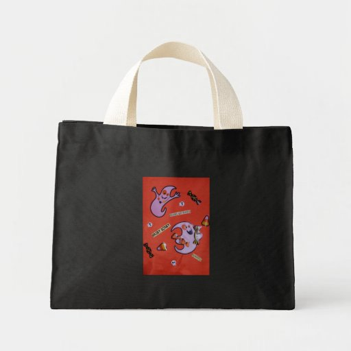 Ghost/ghouls Tote Bags