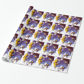 Ghost Girl Wrapping Paper