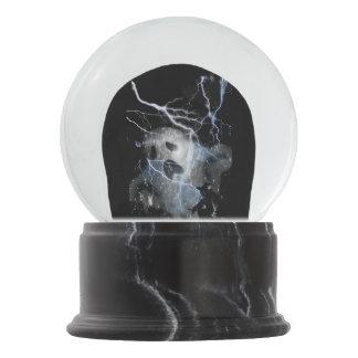 Ghost globe snow globe