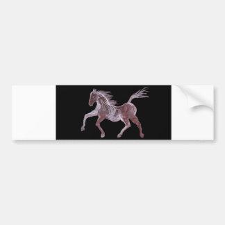Ghost Horse Dancing Bumper Sticker