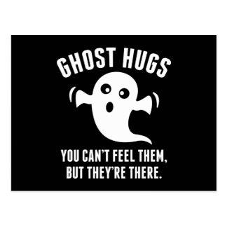 Ghost Hugs Postcard