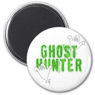 Ghost Hunter 6 Cm Round Magnet