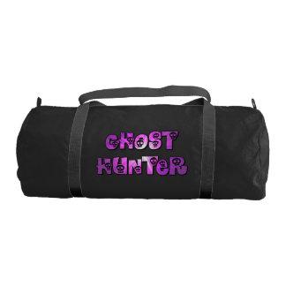 Ghost Hunter in Purple Gym Duffel Bag