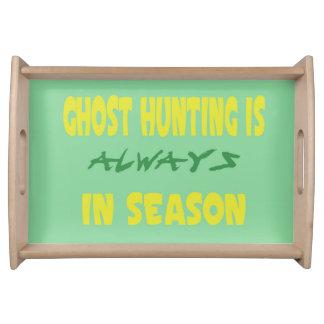Ghost Hunting Season Serving Platters