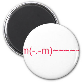 Ghost in Red 6 Cm Round Magnet