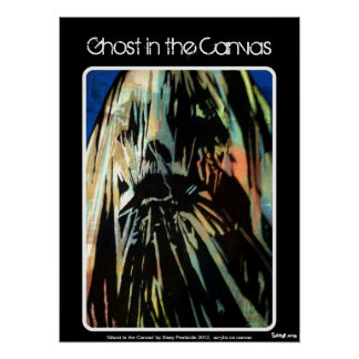 'Ghost in the Canvas' Poster