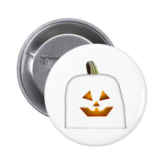 Ghost Jack O' Lantern Buttons