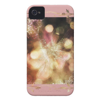 Ghost lily in pink iPhone 4 cases