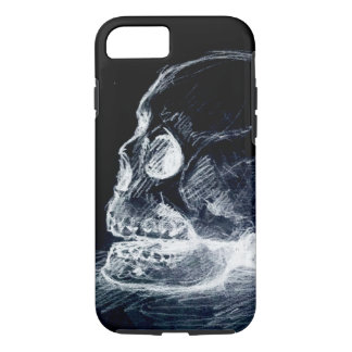 Ghost Line Skull iPhone 7 Case