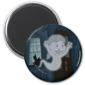 Ghost Lucy Magnet