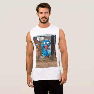 Ghost Muscle Sleeveless Shirt