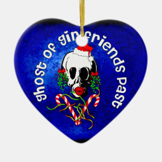 Ghost of Girlfriends Past Ceramic Heart Decoration