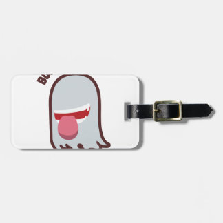 Ghost out the shell luggage tag
