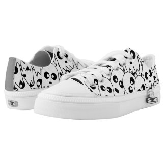 Ghost Pattern Printed Shoes