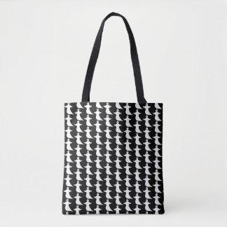 Ghost Pattern Tote Bag
