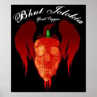 Ghost Pepper $24.95 Art Poster