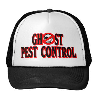 Ghost Pest Control Mesh Hat