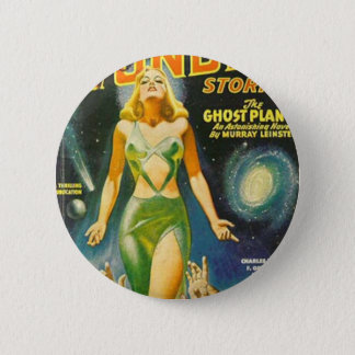 Ghost Planet 6 Cm Round Badge