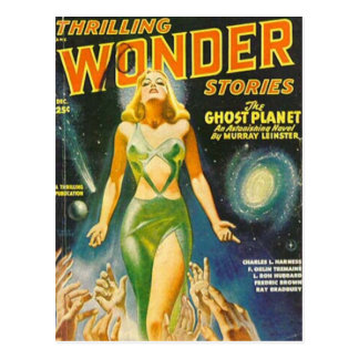 Ghost Planet Postcard