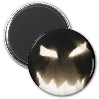 Ghost Pumpkin! 6 Cm Round Magnet