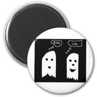 ghost refrigerator magnet