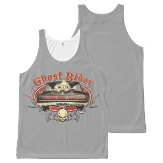 Ghost Rider Badge All-Over Print Singlet