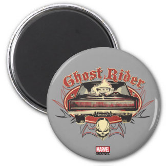 Ghost Rider Badge Magnet