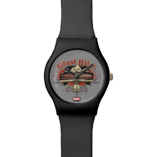 Ghost Rider Badge Watch