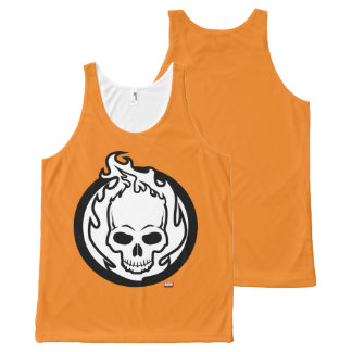 Ghost Rider Icon All-Over Print Singlet