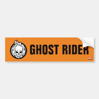 Ghost Rider Icon Bumper Sticker