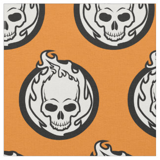 Ghost Rider Icon Fabric