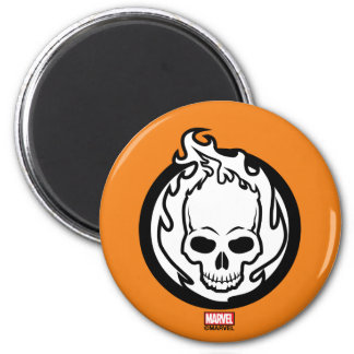 Ghost Rider Icon Magnet