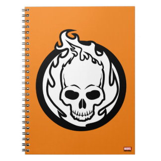 Ghost Rider Icon Notebooks