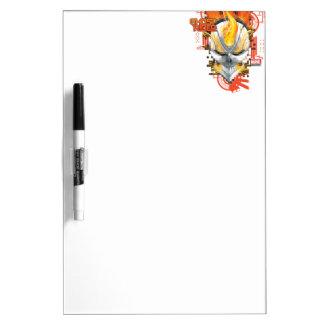 Ghost Rider Skull Badge Dry Erase Whiteboard