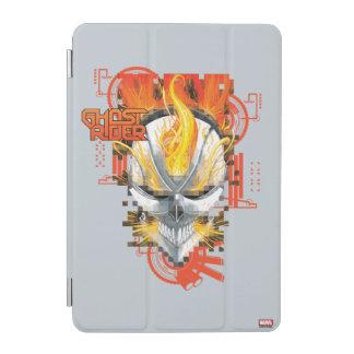 Ghost Rider Skull Badge iPad Mini Cover