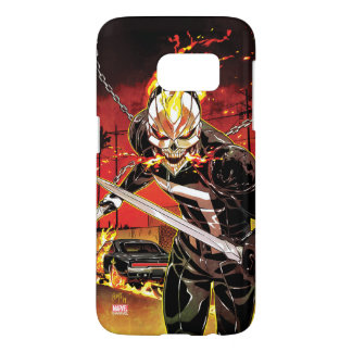 Ghost Rider With Knives