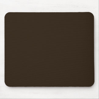 Ghost Roses Brown on Brown Mouse Pad Standard