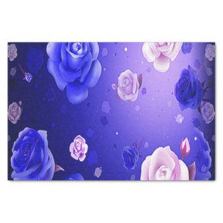 Ghost Roses Purple Tissue Paper
