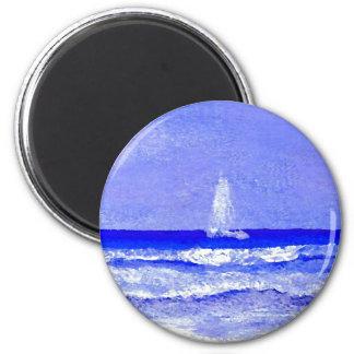 Ghost Sails CricketDiane Ocean Art Refrigerator Magnets