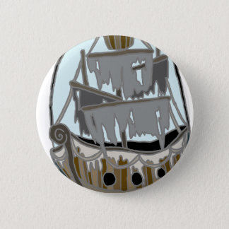 Ghost Ship 6 Cm Round Badge