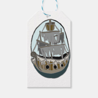 Ghost Ship Gift Tags